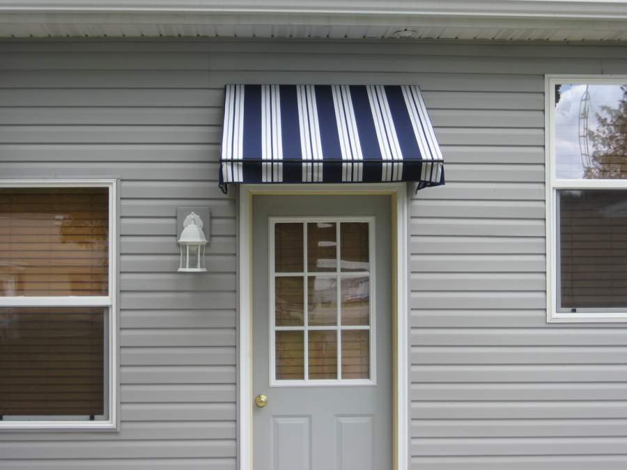 Stationary Window and Door Awnings | Sun and Shade Awnings ...